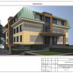 Проект реконструкції будівлі оздоровчого комплексу під навчально-лабораторний комплекс базового медичного коледжу у місті Луцьк - Вхід 2015 рік