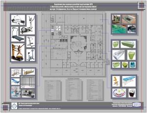 """Планування реабілітаційного центру для воїнів АТО. Технологічна схема влаштування реабілітаційного обладнання - Творча архітектурна майстерня """"Балан та Стельмащук"""""""
