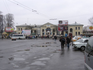 Луцький вокзал 2011 рік.