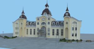 Проект реконструкції Луцького залізничного вокзалу з трьома куполами