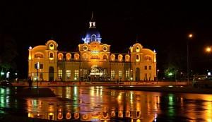 Нічний вокзал у Луцьку фото Т.Грішиної