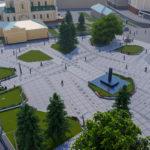 Перспектива №5 - Проект реконструкції Театрального майдану у місті Луцьку