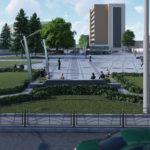 Перспектива №6 - Проект реконструкції Театрального майдану у місті Луцьку