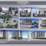 Фасади будинків передбачені проектом реконструкції Театральної площі у місті Луцьку
