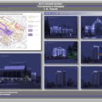Освітлення проект реконструкції Театральної площі у місті Луцьку